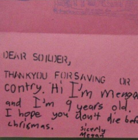 Kids Letters To Camp,kids these days