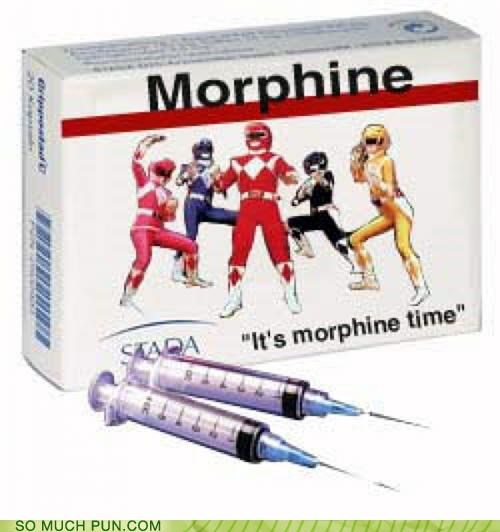 catchphrase Hall of Fame mighty morphing power rangers morphine morphing power rangers quote similar sounding time - 5002754816