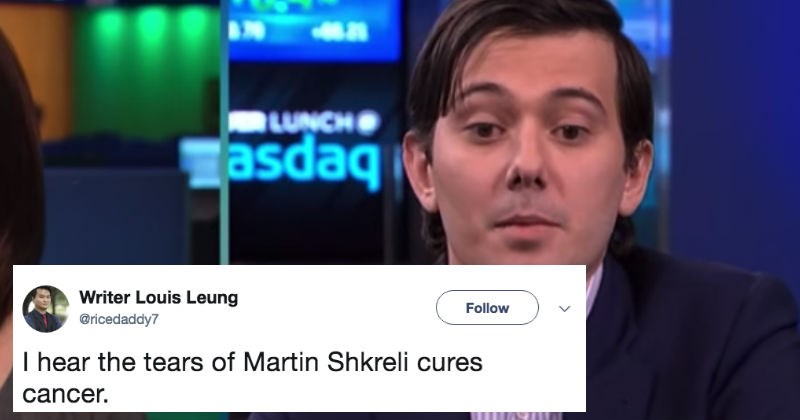 martin shkreli response reaction funny - 5002757