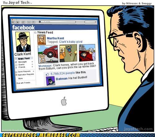 Awesome Art Clark Kent facebook superman - 5002798336