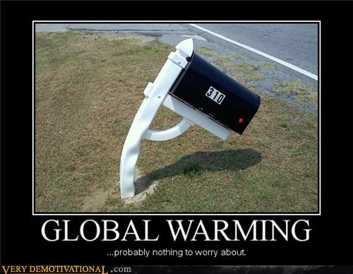 global warming,hilarious,mailbox,melting