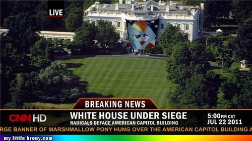 crisis debt obama rainbow dash White house - 5003054592