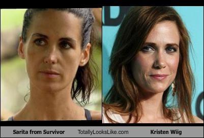 actor funny kristen wiig sarita survivor TLL TV