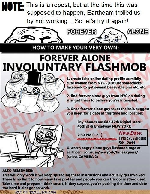 august dating flashmob forever alone nyc - 5003533312