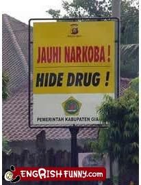 accident drugs not what you think sign - 5004289024