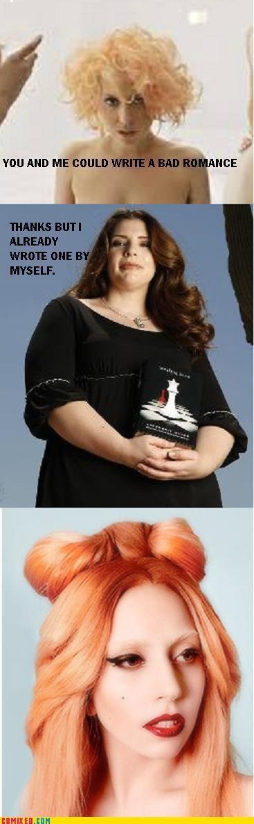 bad romance celebutard lady gaga stephanie meyer twilight - 5004786432