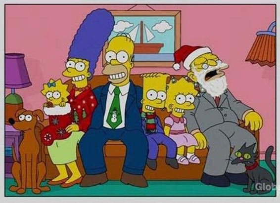 simpson family portrait over the years