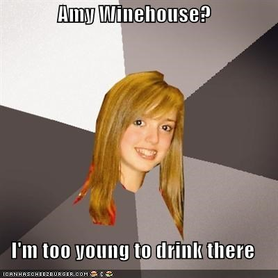amy winehouse drink house Musically Oblivious 8th Grader puns wine - 5005557248