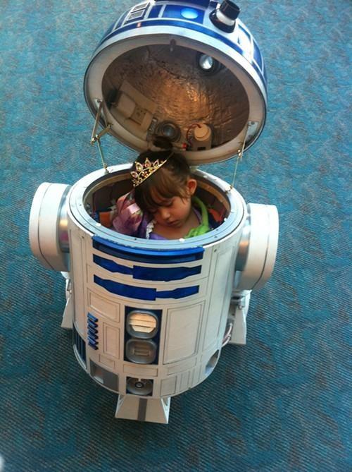 adorbz Geek Girl Spoiler Alert Star Wars Canon
