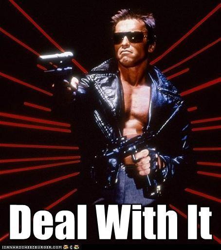 actor Arnold Schwarzenegger celeb funny Movie The Terminator - 5006368512
