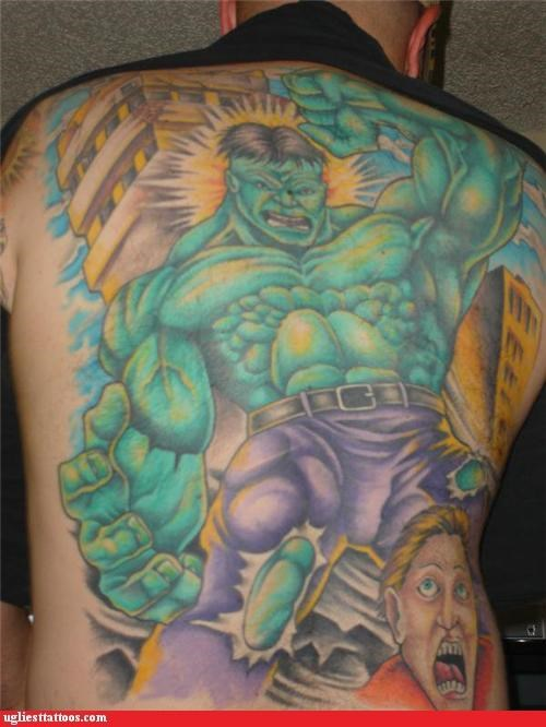 back pieces comics superheroes - 5006516736
