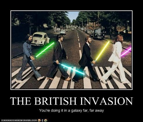 demotivational fake funny sci fi shoop star wars the Beatles - 5006843136