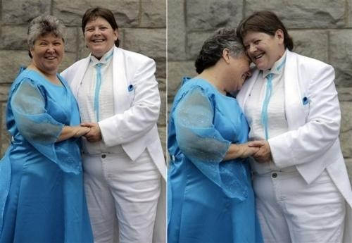 happy couple Historic Occasion LGBT rights same-sex marriage - 5006867968