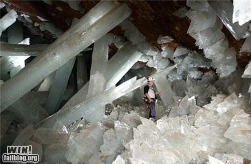 cave crystal spelunking - 5008100864