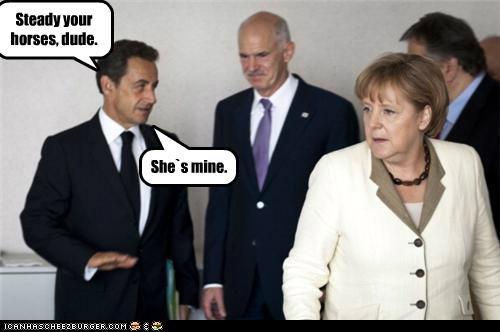 angela merkel Nicolas Sarkozy political pictures - 5008395008