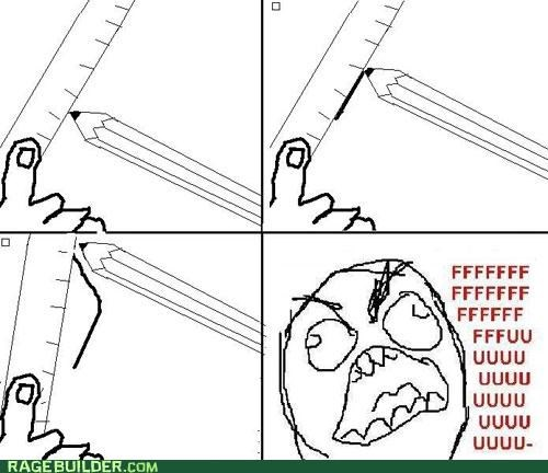 annoying,drawing,fu guy,line,paper,Rage Comics,rip