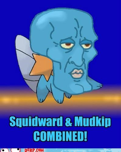 combination,crossover,drawins,mdukip,squidward