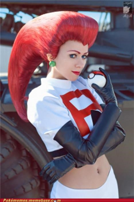 cosplay jessie Team Rocket - 5008951296
