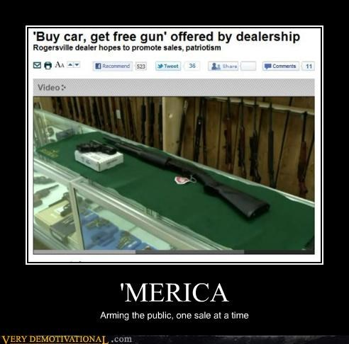 america,cars,guns,hilarious