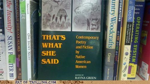book IRL native american poetry thats what she said - 5009471744