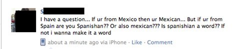 spanish spanishian Mexican mexico failbook g rated - 5010186240