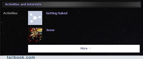 jesus,naked,interests
