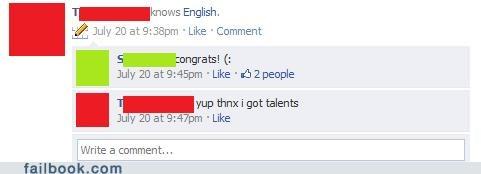 english,talent