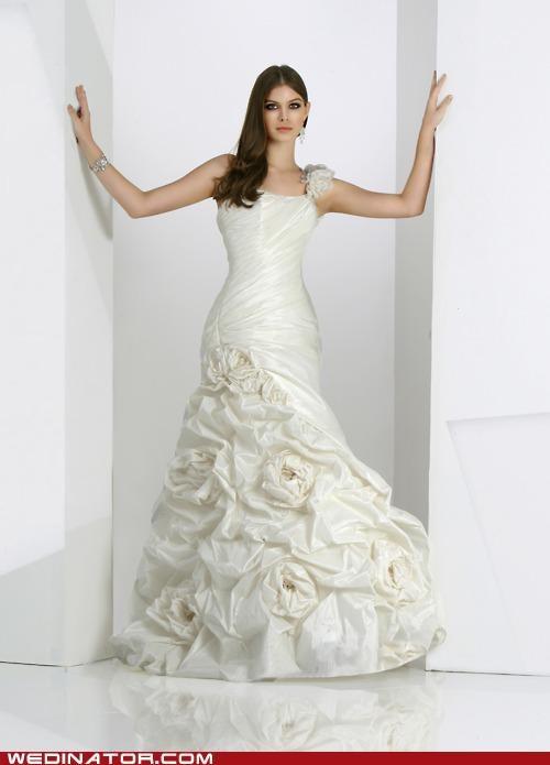 bridal couture bridal fashion funny wedding photos pretty or not wedding dress - 5010677760