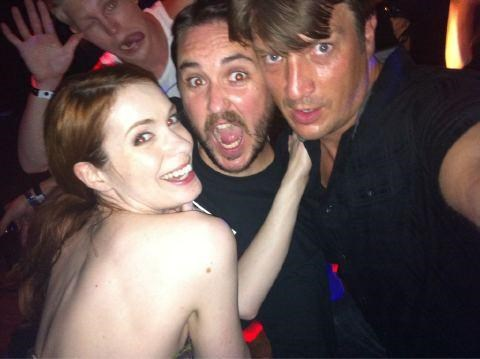 comic con Felicia Day nathan fillion wil wheaton - 5011409664
