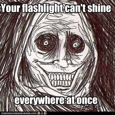 everywhere flashlight shadowlurker The Shadowlurker - 5011434752