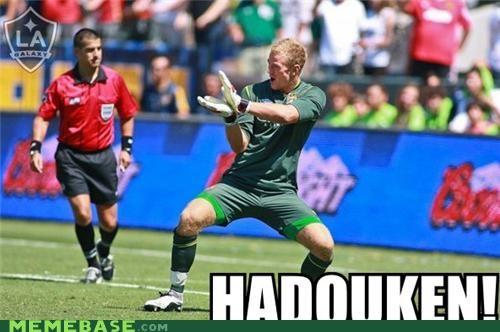hadouken joe hart Memes soccer - 5011542016