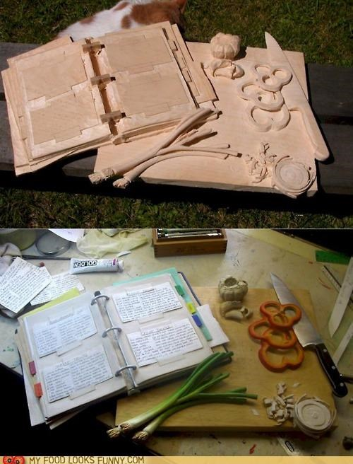 art carving food prep Photo scuplture wood - 5011629056