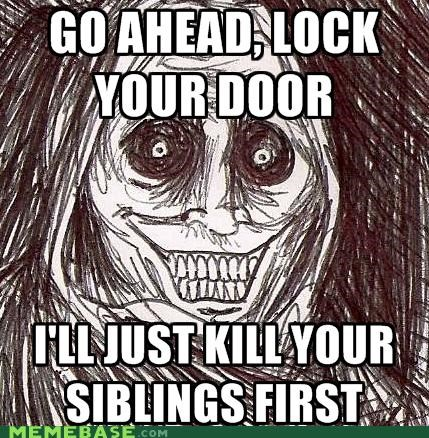 children,door,lock,siblings,The Shadowlurker,titanic,women