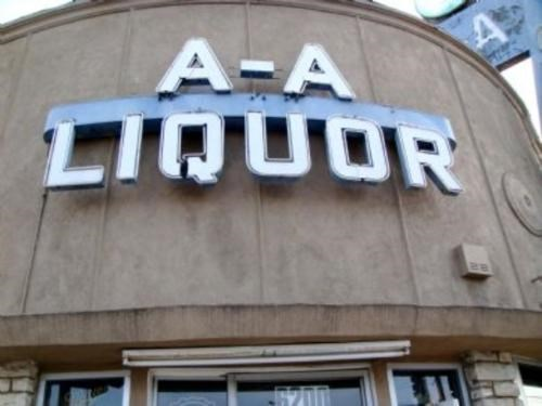 its a trap,los angeles,Poorly Named Liquor Store