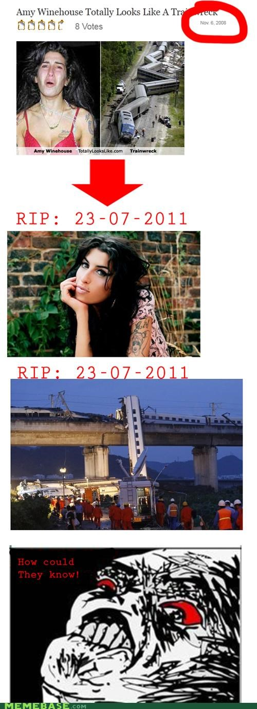 amy winehouse,Memes,totally looks like,train,wreck
