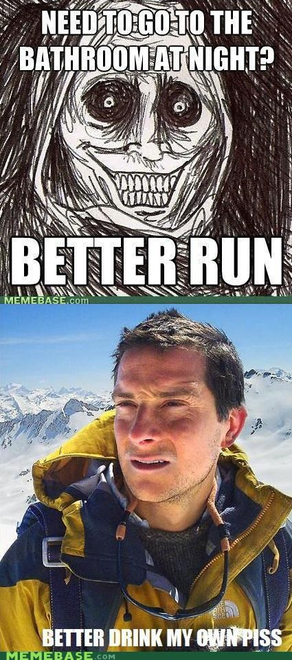 bear grylls,never alone,Reframe,shadowlurker,solution