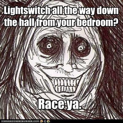 Horrifying Houseguest lights race shadowlurker The Shadowlurker - 5012123136