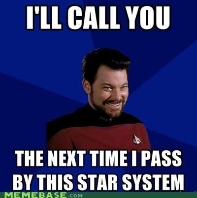 Memes nerds raunchy riker Star Trek TNG - 5012240896