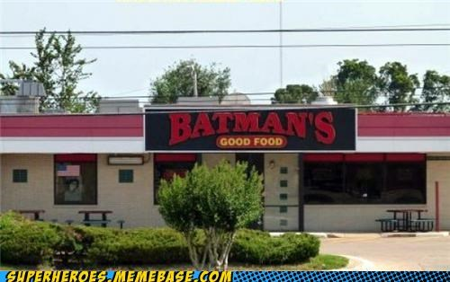 batman food Random Heroics restaurant wtf - 5012312576
