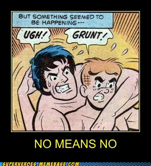 Archie no means no Super-Lols wrestling wtf - 5012317952