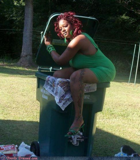 garbage bin green photoshoot recycling - 5012383488
