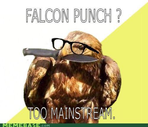 bro falco falcon Hipster Kitty knife mainstream punch - 5012449024