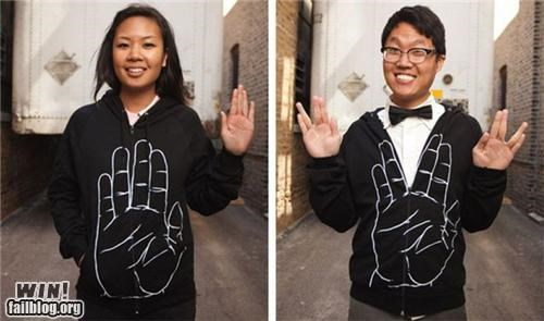 fashion,live long and prosper,nerd,Star Trek