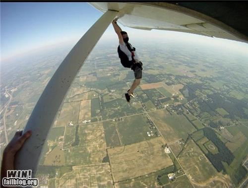 crazy high altitude plane skydiving