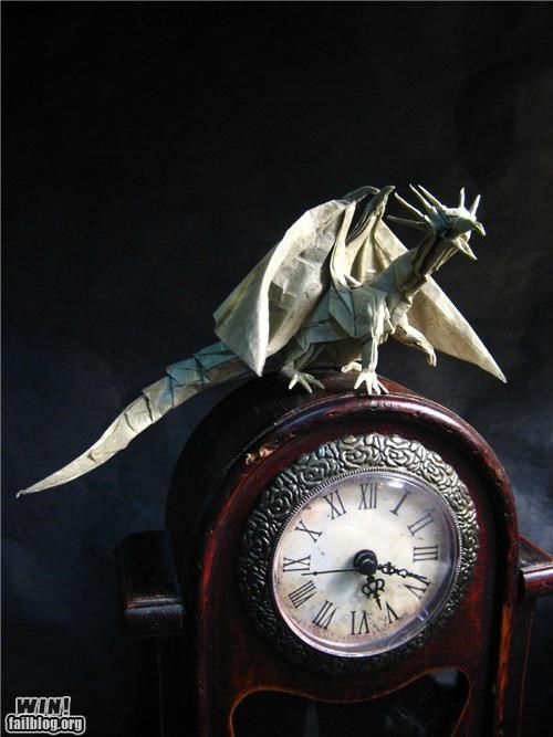 dragon,origami,paper,papercraft