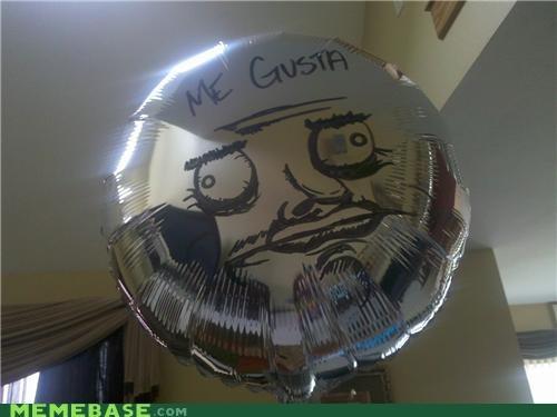 Balloons face IRL me gusta - 5012653056