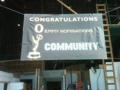 community,FYC,sign of the times