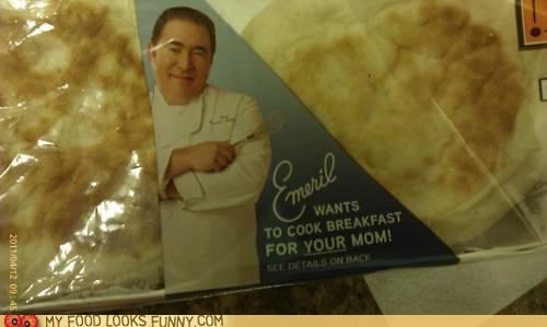 Ad breakfast cooking Emeril mom - 5012807424