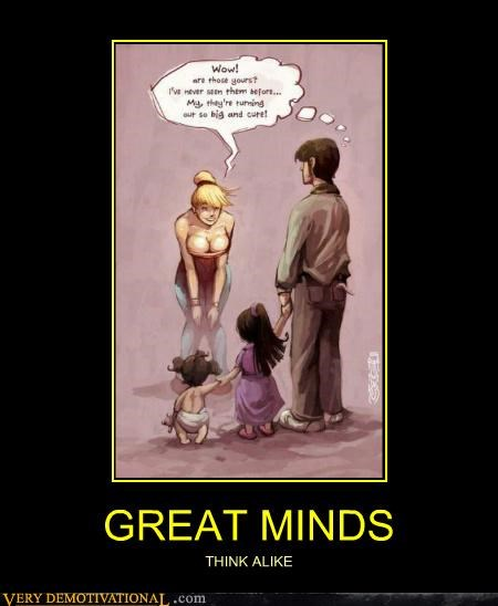 hilarious lady bags minds think alike - 5012948736