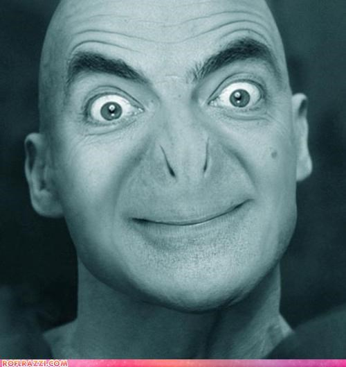 fake funny Harry Potter Lord Voldemort mr-bean ralph fiennes rowan atkinson sci fi shoop - 5013194240